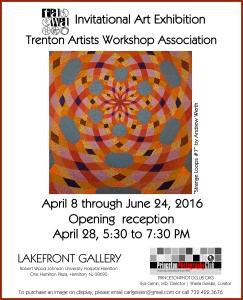 TAWA at RWJ Lakefront Gallery Poster